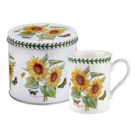 Portmeirion Botanic Garden Mug Amp Tin Set Sunflower