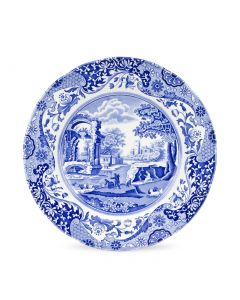 Spode Blue Italian 10 inch Dinner Plates Set of 4