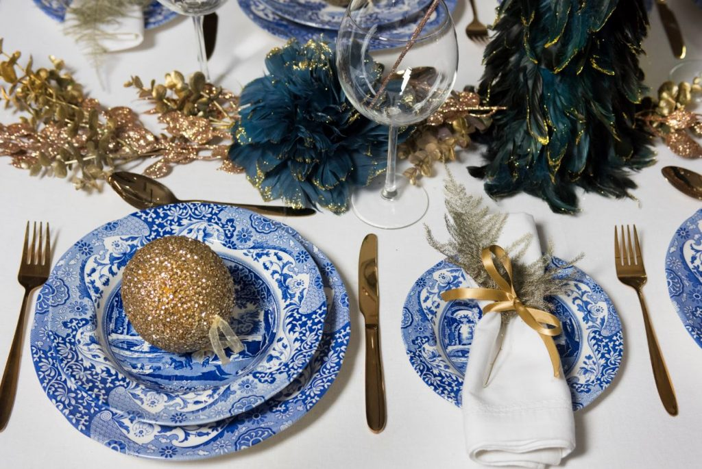 Spode Blue Italian Christmas Tableware