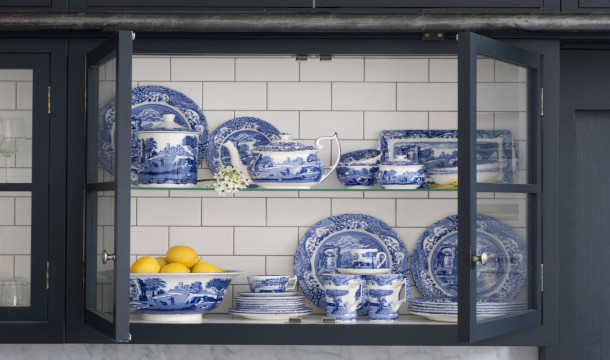Spode's Blue Italian Collection