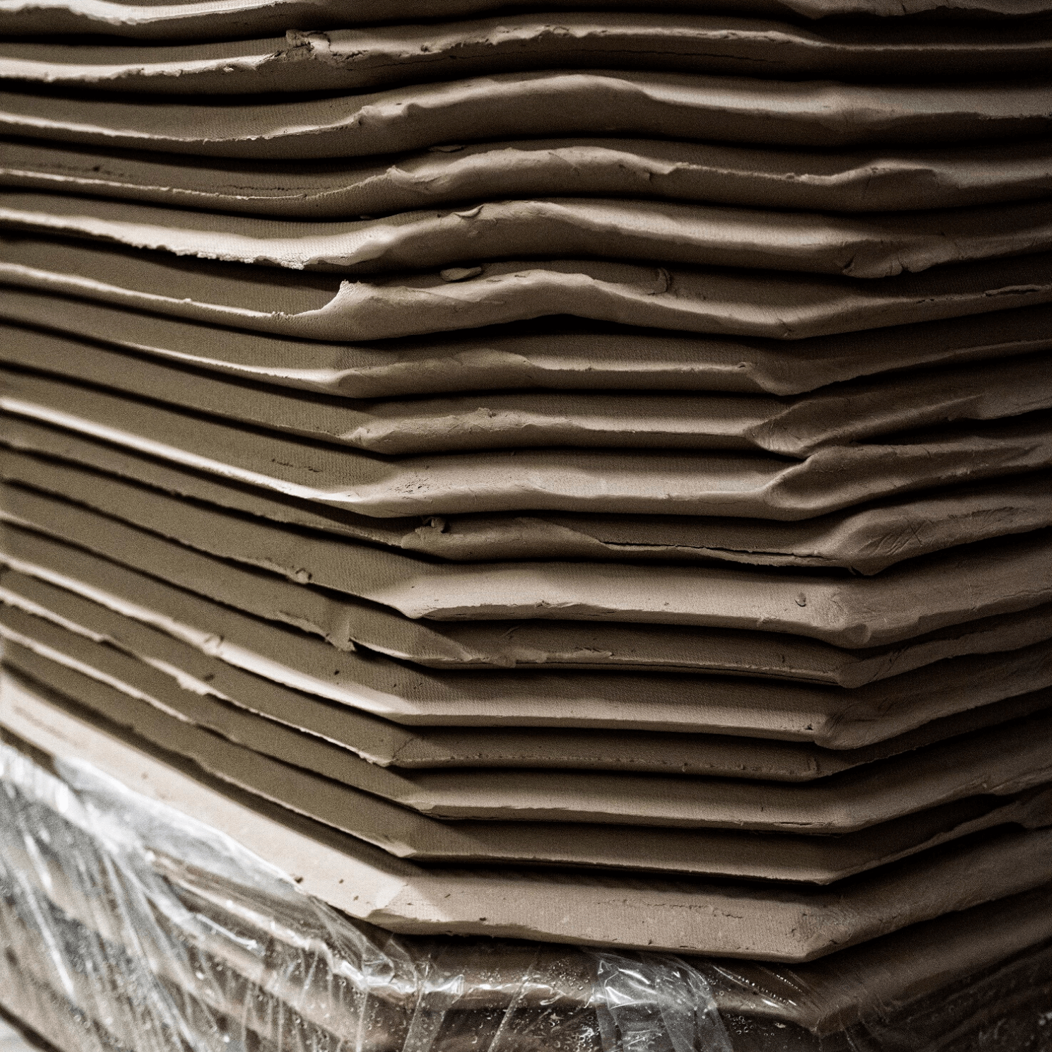 Spode Factory Clay Slabs
