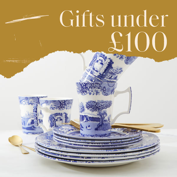 Gifts under £100, spode gifts, luxury gifts