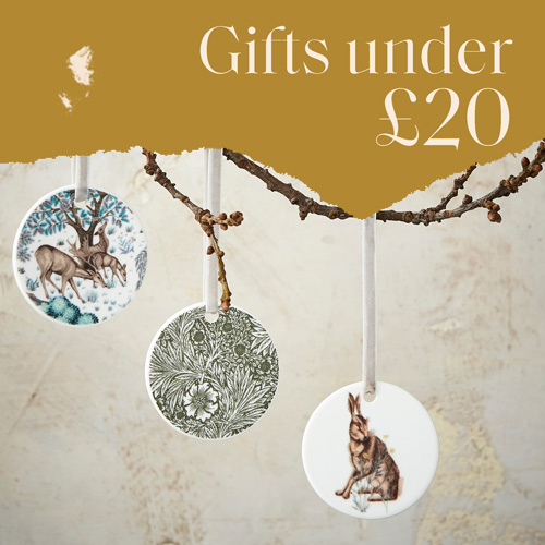 Gifts under £20, spode gifts, luxury gifts