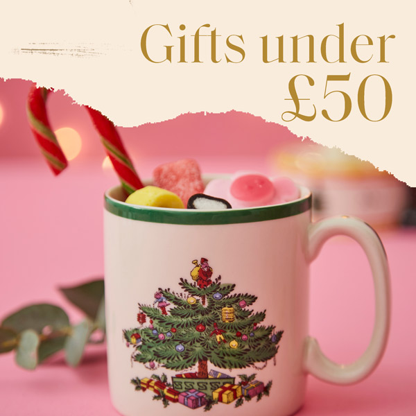 Gifts under £50, spode gifts, luxury gifts