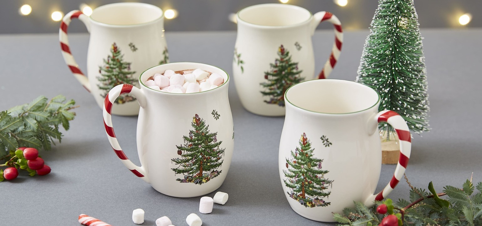 Festive and charming, the famous Spode Christmas Tree collection is perfect addition to any home this festive season.