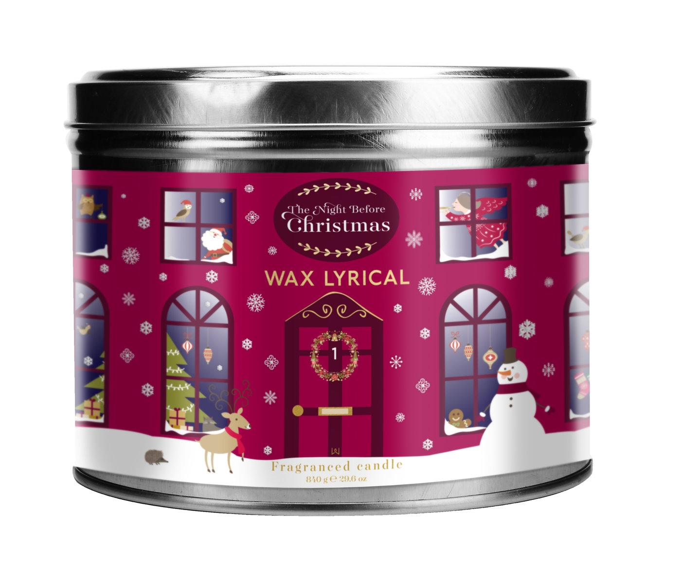 Wax Lyrical The Night Before Christmas